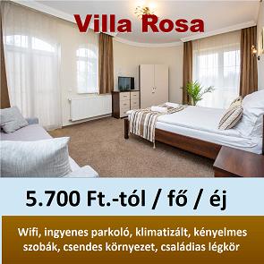 Villa Rosa nyár