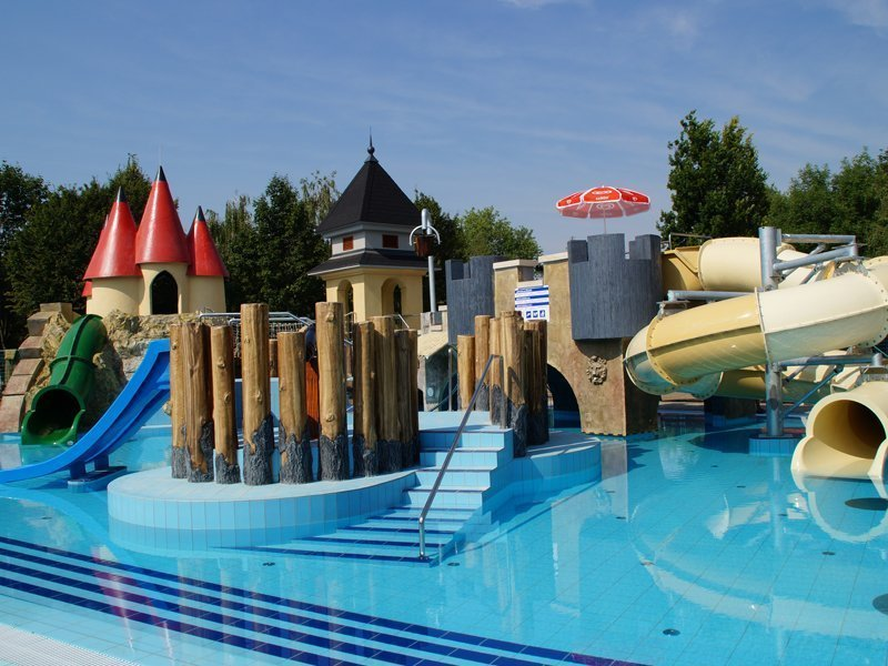 Gyermek élménymedence Aquapark Hajdúszoboszló