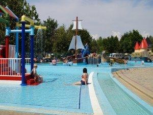 Új gyermek medencék az Aquaparkban