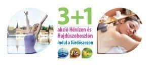 3+1 akció, indul a fürdőszezon kampány logo