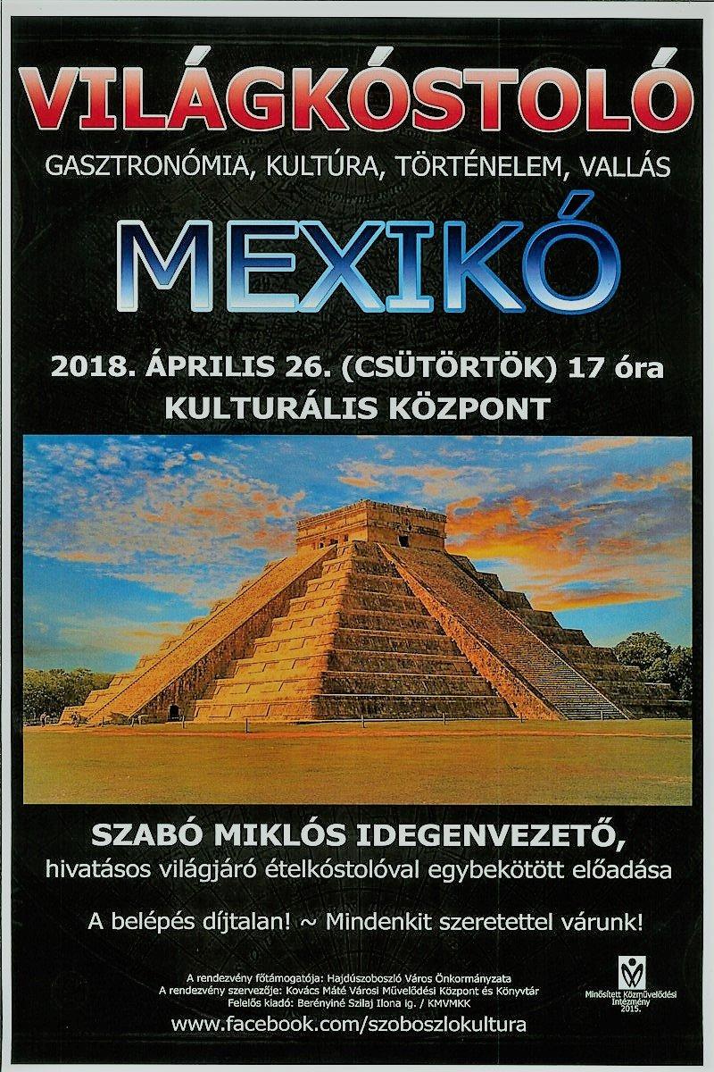 Világkóstoló Mexikó (1)