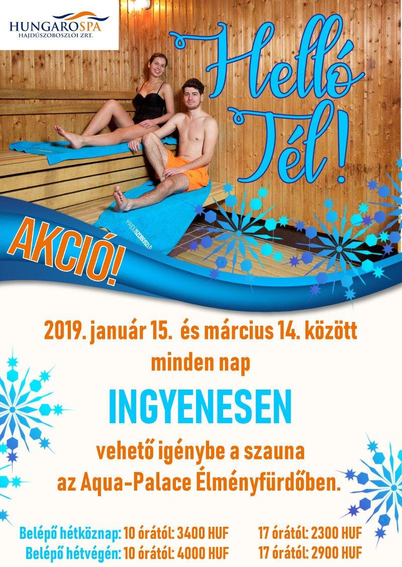 Helló Tél plakát Hungarospa